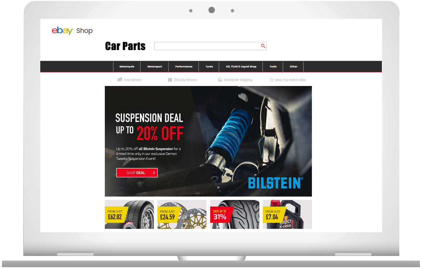 Ebay Large Merchant Platform Integration Sell Car Parts